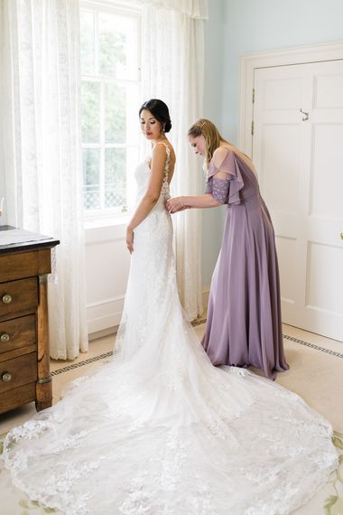 Bridal preparations and getting ready