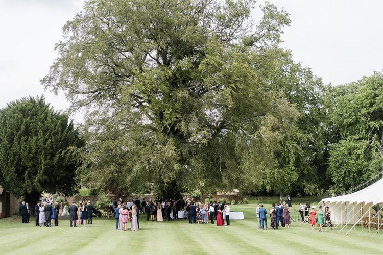Marquee wedding venue at Rockley Manor