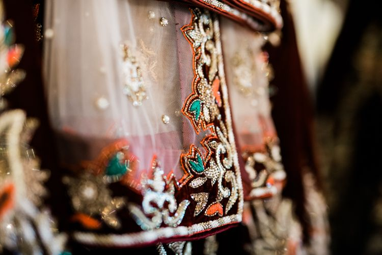 Traditional Lengha // Wharfedale Grange, Yorkshire // Photography by Kazooieloki.