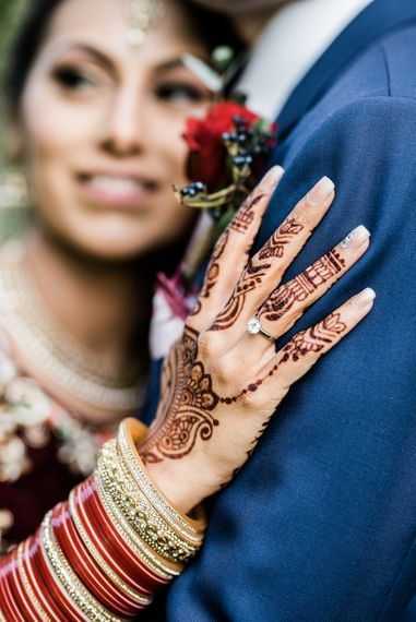 Mehndi // Anglo Indian Fusion Wedding // Yorkshire // Photography by Kazooieloki.
