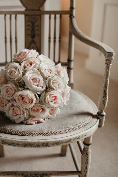 Rose Bride Bouquet in Blush