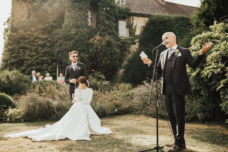 Father of The Bride Outdoor Wedding Speech