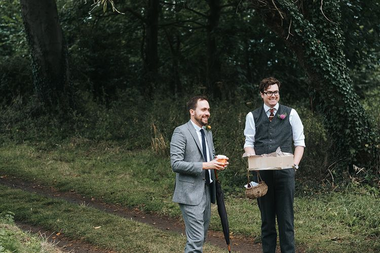 Outdoor Woodland Wedding at Wiveton Hall, Norfolk with Folk Festival Vibes | Miss Gen Photography