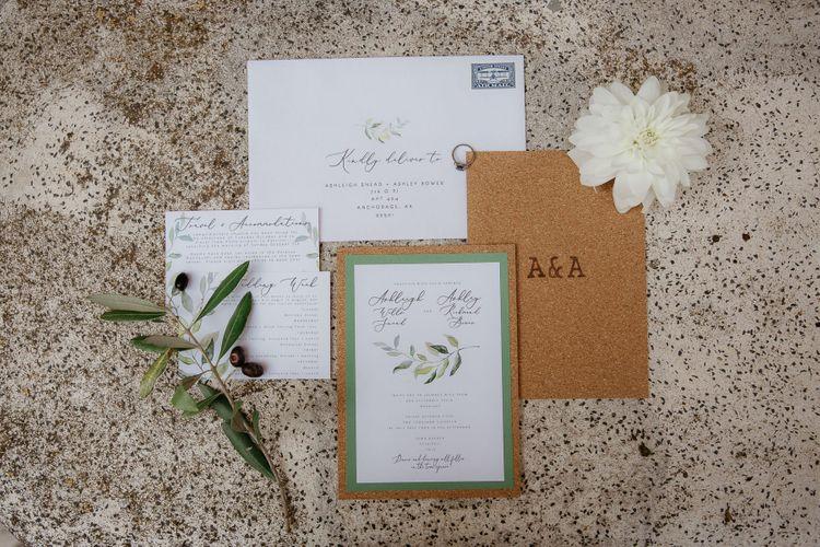 Wedding stationery for destination wedding