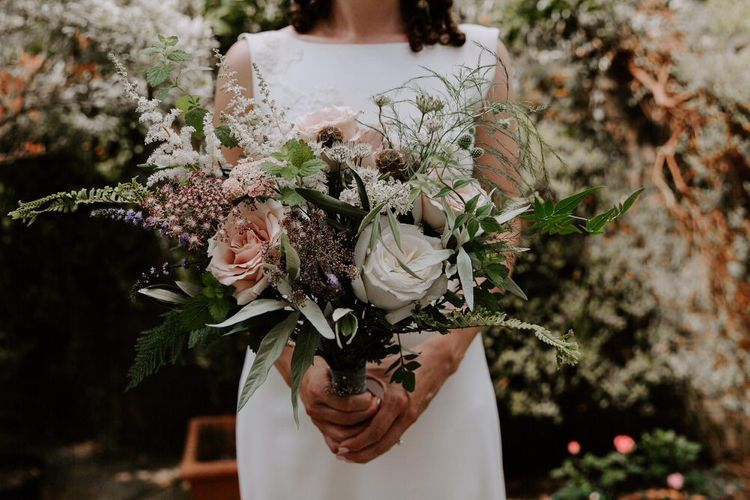 Darling Buds Of Sussex Autumn Bridal Bouquet