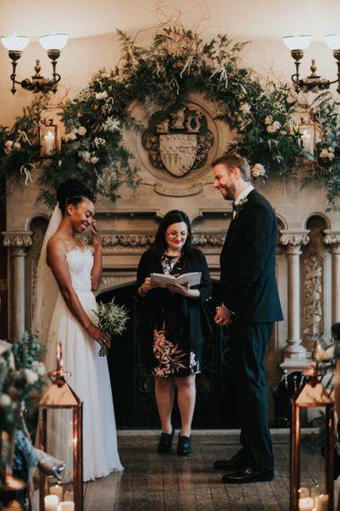 The Elvetham wedding ceremony