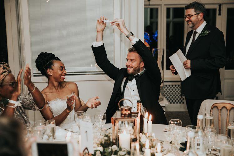 Wedding speeches at  The Elvetham wedding reception
