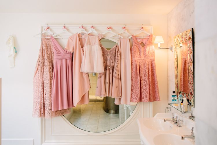 Bridesmaids In Pink Dresses // Images By Storyett