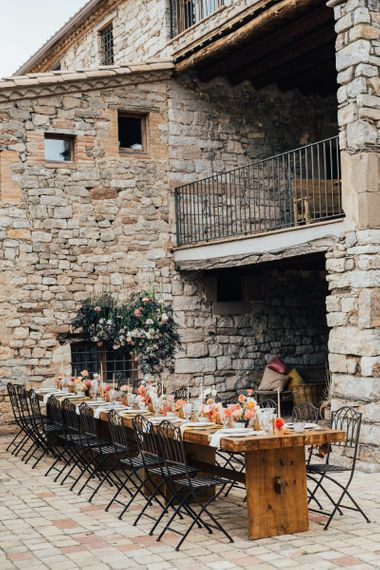 Outdoor Tablescape at This Must Be the Place