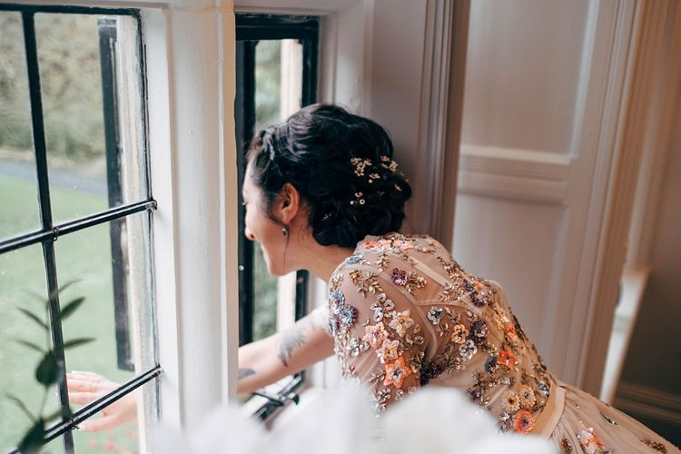 Bride Wears Needle & Thread // Images By Dale Weeks Photography