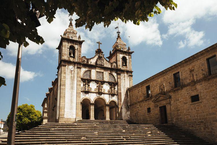 Former Cisterian Monastery, Pousada de Amares in Portugal
