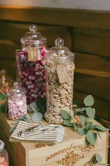 Sweetie Table At Wedding