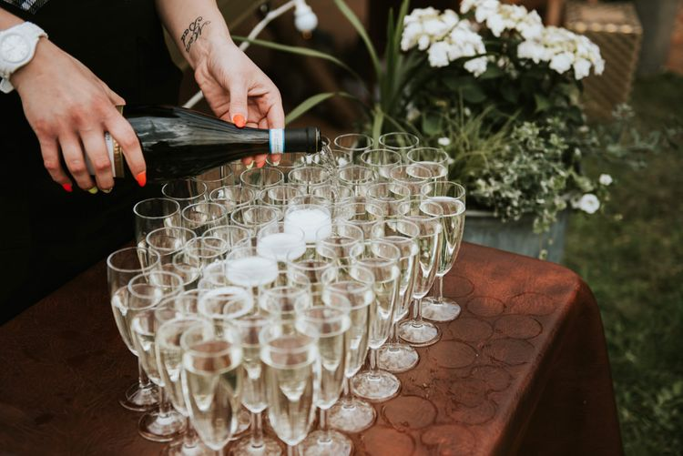 Wedding drinks for guests