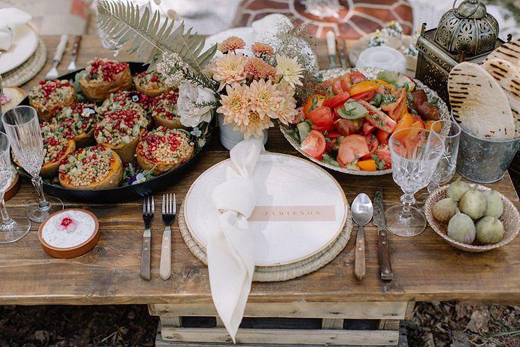 Caper & Berry Wedding Anti Pasti Catering