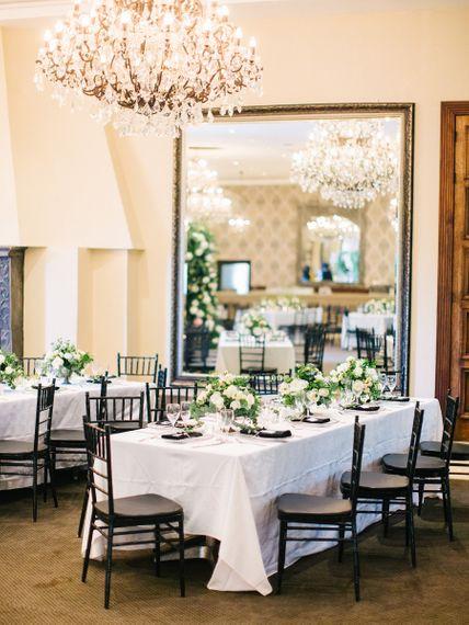 Bridal Shower Table Set Up