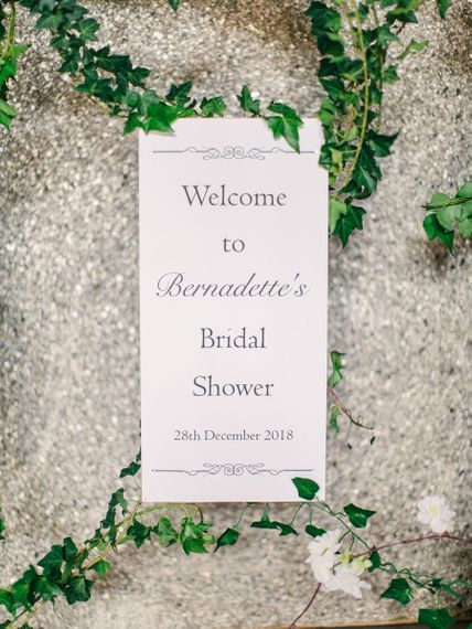 Bridal Shower Stationery and Decor