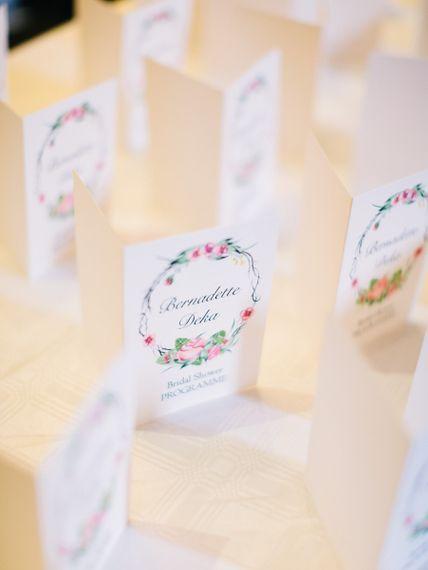 Bridal Shower Stationery