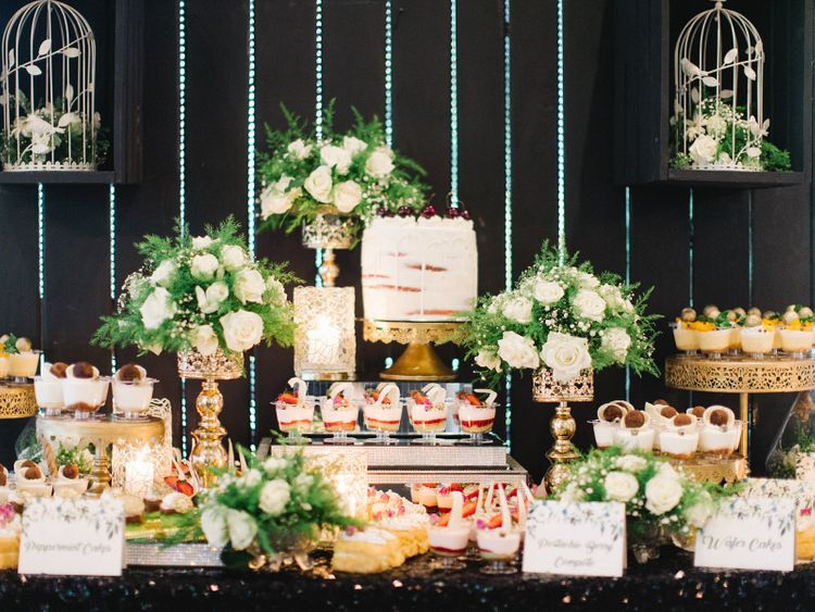 Delicious Dessert Table At Africa Wedding Bridal Shower