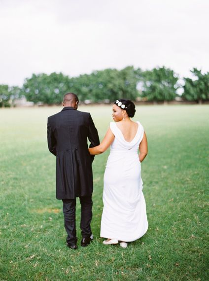 Cowell Neck Wedding Dress
