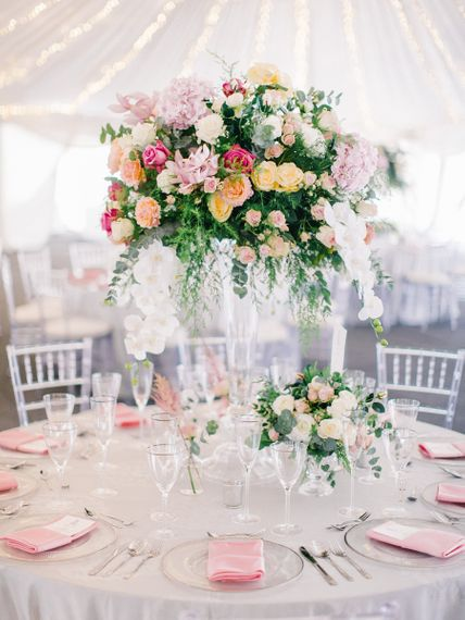 Wedding Table Flower  Centrepieces