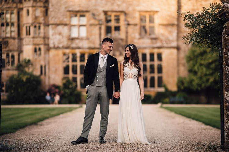 Bespoke Amanda Wakeley Wedding Dress // Images From Samuel Docker Photography