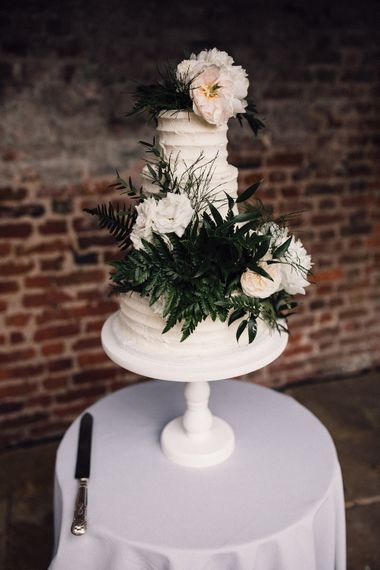 Buttercream Wedding Cake // Images From Samuel Docker Photography