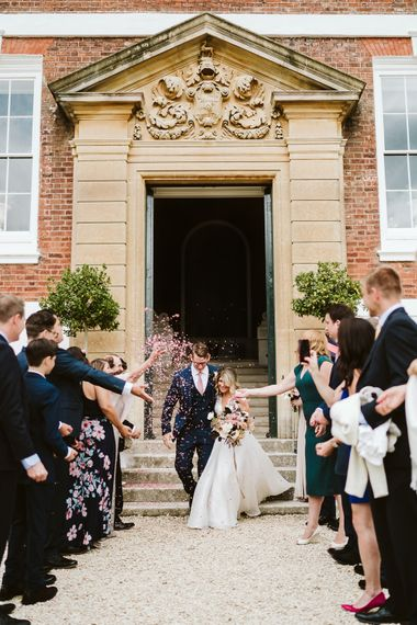 Bespoke Suzanne Neville Wedding Dress // Image By John Barwood Photography