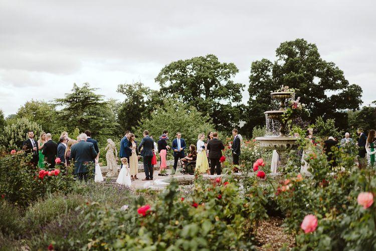 Pynes House Wedding // Image By John Barwood Photography