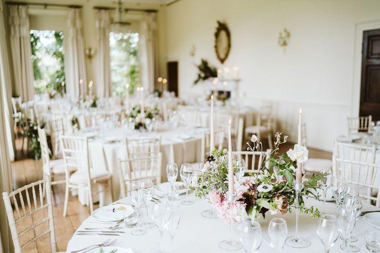 Wedding Reception At Pynes House // Image By John Barwood Photography