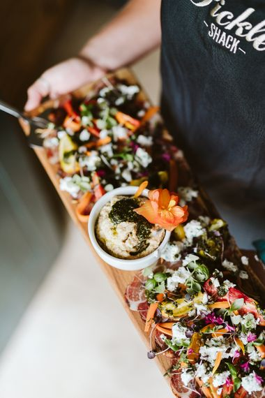 Canapes From The Pickle Shack // Image By John Barwood Photography