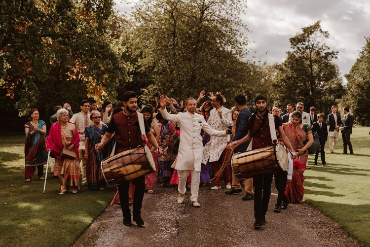 Traditional Indian Dhol drummers