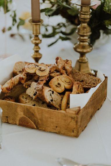 Bread Basket   Wedding Catering   Outdoor Cornish Wedding at Boconnoc Estate   Nick Walker Photography