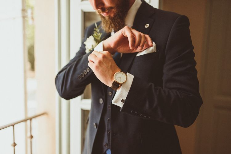 Groom Accessories Watch And Cufflinks