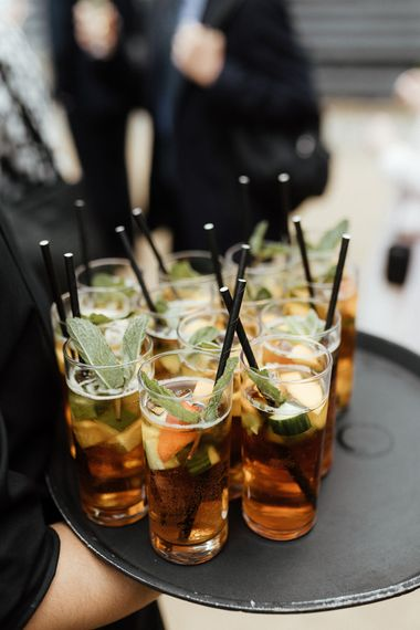 Pimms drinks reception