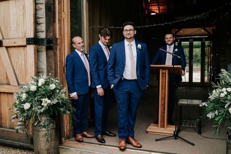 Groom Awaits Bridal Entrance
