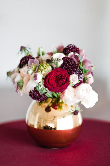 Rosehip London Floral Arrangement | Blush Pink Opulent London Engagement Party Inspiration Planned & Styled by Just Bespoke | Sanshine Photography