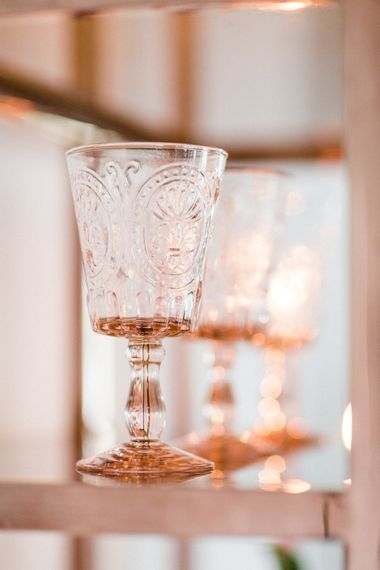 Classic Crockery Glassware | Blush Pink Opulent London Engagement Party Inspiration Planned & Styled by Just Bespoke | Sanshine Photography