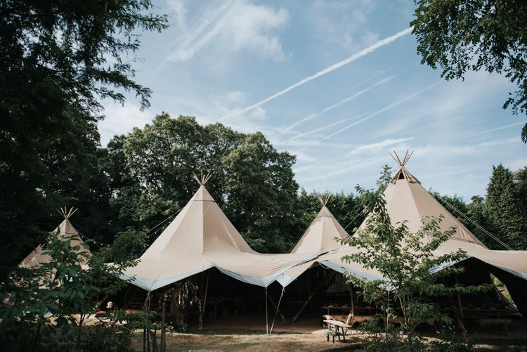 Tipi Wedding // Image By Rosie Kelly Photography