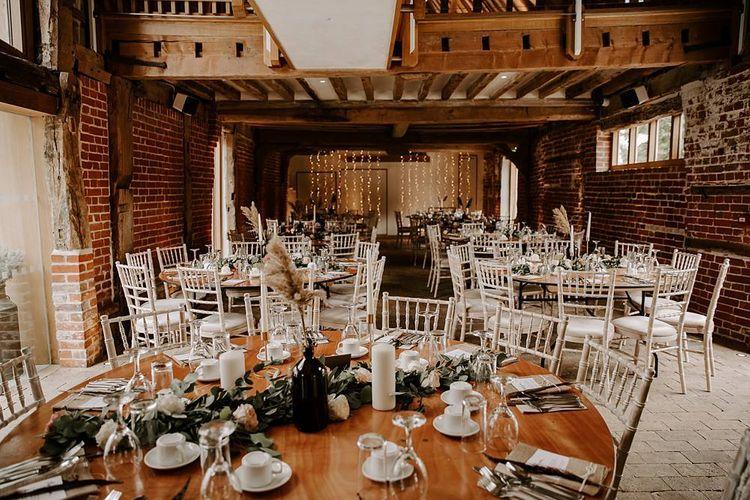The Tudor Barn wedding breakfast