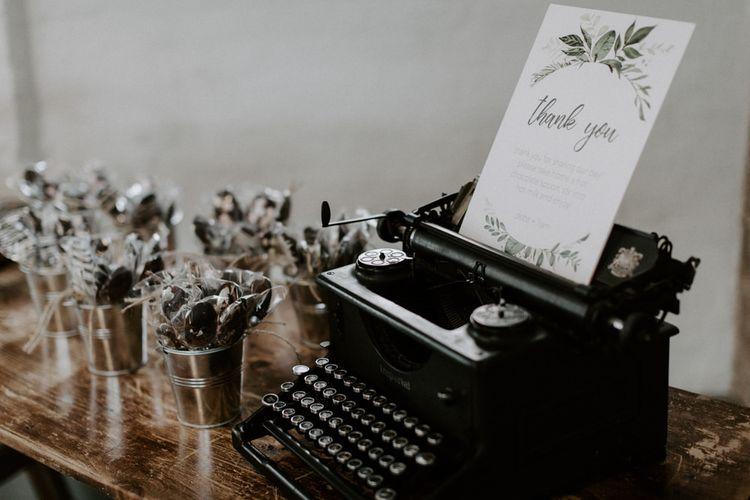 Foliage Motif Wedding Stationery  // Images By Grace Elizabeth Photo And Film