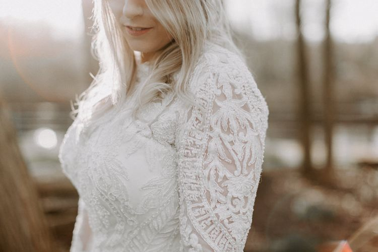 Custom Made Wedding Dress  // Images By Grace Elizabeth Photo And Film