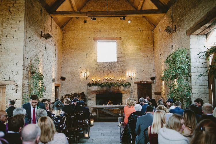 Wedding Ceremony At Cripps Barn // Image By David Jenkins Photography