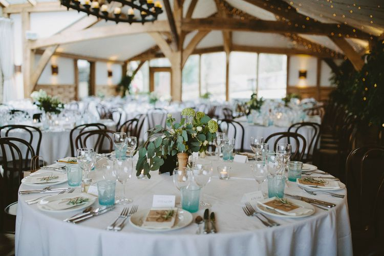 Winter Wedding At Cripps Barn // Images David Jenkins Photography // Bride In Stewart Parvin Dress