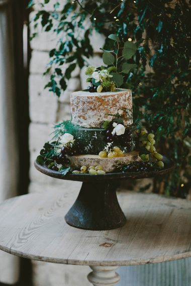 Wedding Cheese Tower // Image By David Jenkins Photography