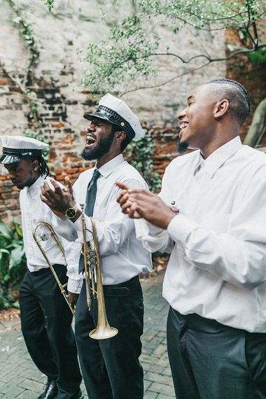 Brass Band Wedding Entertainment