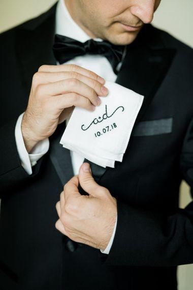 Personalised Wedding Handkerchief