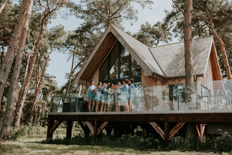 Lodge at Norfolk wedding venue