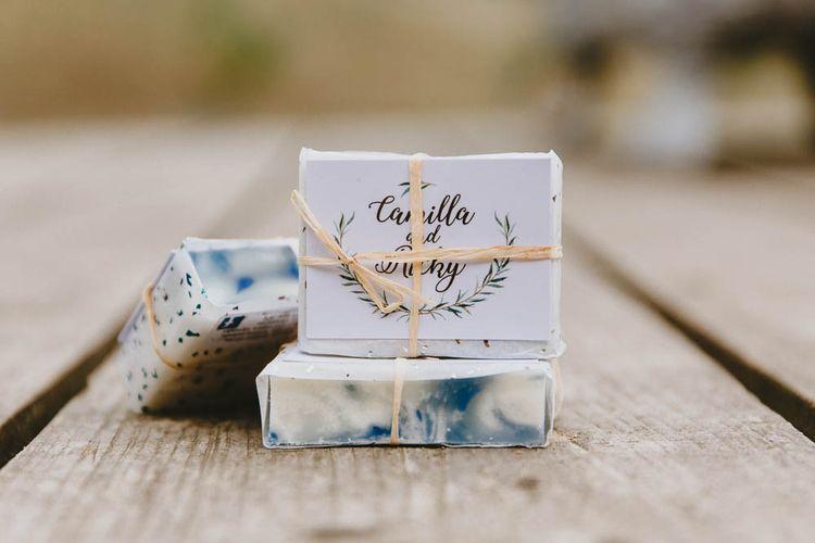 Homemade Soap Wedding Favours