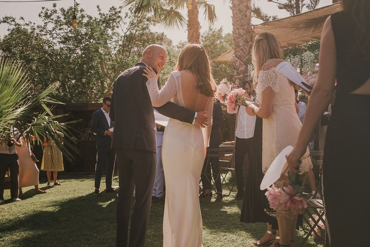 Ibiza Weekend Wedding With Outdoor Ceremony At Raco And After Party On The Beach At Ses Boques Images Pablo Laguia