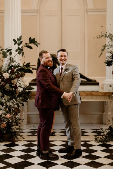 Same sex wedding ceremony at Syon Park